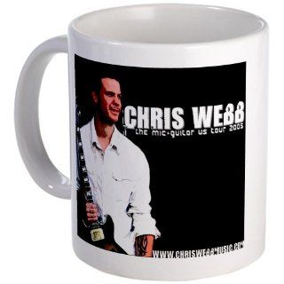 CafePress Chris Webb Mug   Standard: Kitchen & Dining