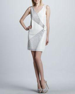 Womens Sleeveless Beaded Dress   Erin by Erin Fetherston   White (10)