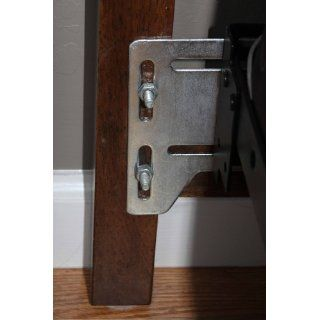 Bed Claw Queen Bed Modification Plate, Headboard Attachment Bracket, Set of 2   Headboards For Queen Beds