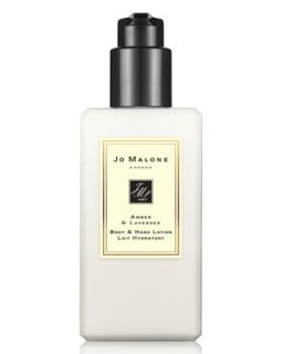 Amber & Lavender Body & Hand Lotion, 250ml   Jo Malone London   No color (250ml