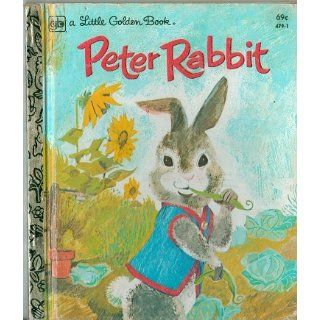The Tale Of Peter Rabbit (A Little Golden Book): Beatrix Potter, Adriana Mazza Saviozzi: 9780394623382: Books