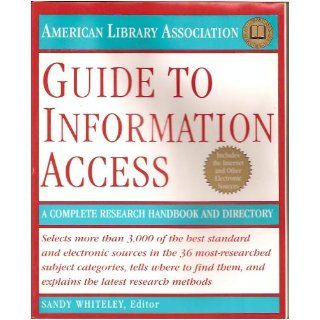 ALA Guide to Information Access: American Library Association: 9780679430605: Books