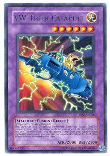 2008 YuGiOh! Duelist Pack: Chazz Princeton 1st Edition DP2 EN016   VW Tiger Catapult   Rare: Toys & Games