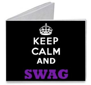 Keep Calm and SWAG   Paper Tyvek Wallet: Clothing