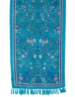 Rectangular Silk Dresses Indian Colorful Printed Scarf Accessories