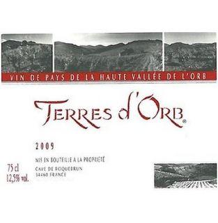 Cave de Roquebrun Terres d'Orb Vin de Pays de la Haute Vallee de l'Orb 2009: Wine