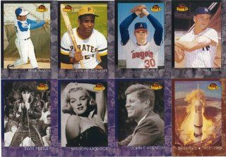 2001 Topps American Pie Series 150 Card Complete Mint Set. Loaded with Baseball's Greatest Stars Including Hank Aaron, Roberto Clemente, Roger Maris, Nolan Ryan, Bob Gibson, Dave Winfield, Eddie Mathews, George Brett, Jim Palmer, Johnny Bench and Many