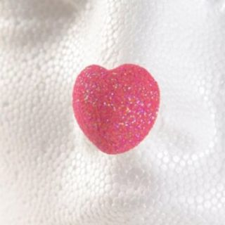 ProKnows Clown Nose Tips   T5 Glitter Heart   Pink M: Costume Accessories: Clothing