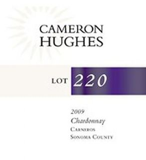 Cameron Hughes Lot 220 Chardonnay Carneros Sonoma County 2009 750ml: Wine