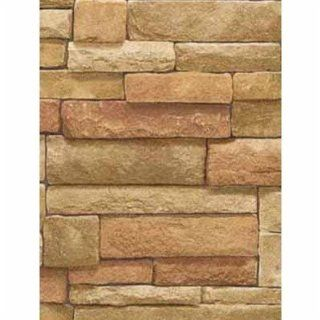 Real Looking Stacked Stone WALLPAPER SR026202