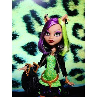 Monster High New Scaremester Clawdeen Wolf Fashion Doll: Toys & Games