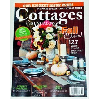 Cottages & Bungalows Magazine (October/November Issue 2013) Jickie Torris Books