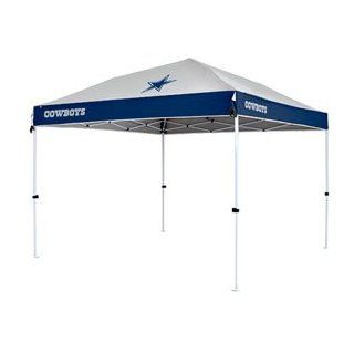 """Dallas Cowboys NFL """"First Up"""" 10'x10' Tailgate Canopy by Northpole Ltd. (Straight Leg)  Sports Fan Canopies  Sports & Outdoors"""