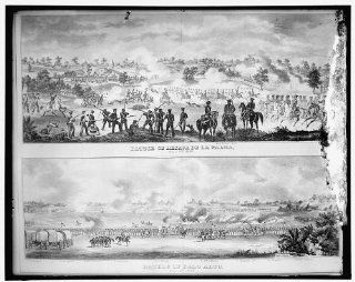 Photo: Battle fo Resaca de la Palma, May 9th 1846; Battle of Palo Alto, May 8th, 1846   Prints