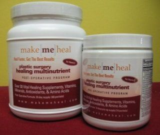 Make Me Heal Plastic Surgery Healing Supplements & Vitamins Kit (Pre & Post Op Formulas) Health & Personal Care