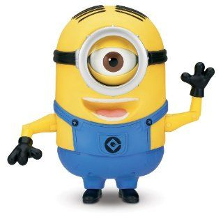 Despicable Me Minion Stuart Laughing Action Figure: Toys & Games
