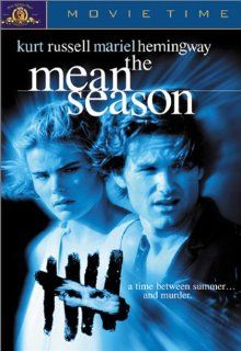 The Mean Season: Kurt Russell, Mariel Hemingway, Richard Jordan, Richard Masur, Richard Bradford, Joe Pantoliano, Andy Garcia, Rose Portillo, William Smith, John Palmer (VII), Lee Sandman, Dan Fitzgerald (II), Cynthia Caquelin, Fred Ornstein, Fritz Bronner