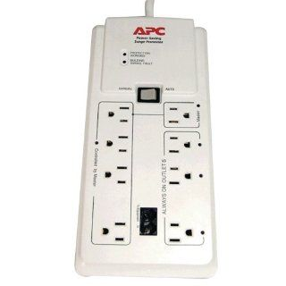 APC P8GT 8 Outlets 120V Power Saving Home/Office SurgeArrest with Phone Protection: Electronics