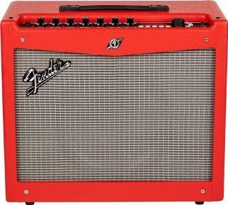 Fender Mustang III   V.2 Guitar Amplifier Red Musical Instruments