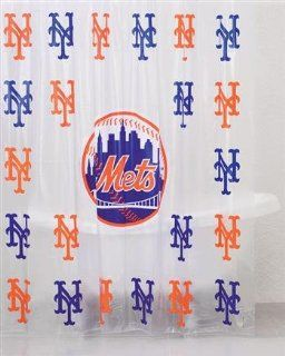 New York Mets Shower Curtain  Sports & Outdoors