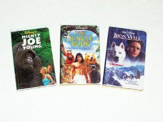 Walt Disney's Adventure Collection #1 (3pk): Iron Will; the Jungle Book; Mighty Joe Young: Mackenzie Astin (Iron Will), Kevin Spacey (Iron Will), Charlize Theron (Mighty Joe Young), Bill Paxton (Mighty Joe Young), Jason Scott Lee (Jungle Book), Lena He