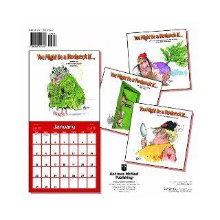 Jeff Foxworthy's You Might Be a Redneck If 2012 Wall Calendar Jeff Foxworthy 9781449404932 Books