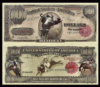 RODEO MILLION DOLLAR BILL (5 bills): Everything Else