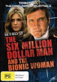 The Return of the Six Million Dollar Man and the Bionic Woman [Region 2&4]: Return of the Six Million Dollar Man & Bionic Woma: Movies & TV