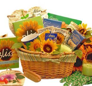 Basket of Bliss Garden Lovers Gift Basket  Gourmet Coffee Gifts  Grocery & Gourmet Food