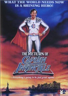 The Return of Captain Invincible: Alan Arkin, Christopher Lee, Kate Fitzpatrick, Bill Hunter, Michael Pate, David Argue, John Bluthal, Chelsea Brown, Max Cullen, Arthur Dignam, Noel Ferrier, Hayes Gordon, Chris Haywood, Graham Kennedy, Gus Mercurio, Max Ph