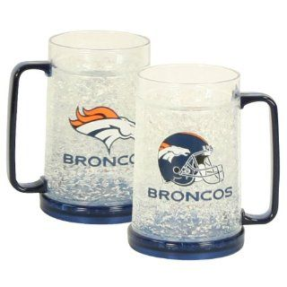 Denver Broncos Freezer Mug : Sports Fan Travel Mugs : Sports & Outdoors