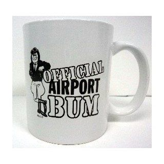 Official Airport Bum coffee mug: Kitchen & Dining