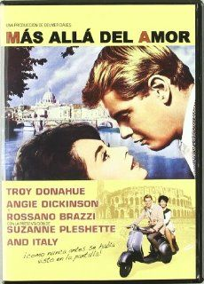 Rome Adventure ( Lovers Must Learn ) [ NON USA FORMAT, PAL, Reg.0 Import   Spain ] Rossano Brazzi, Troy Donahue, Angie Dickinson, Suzanne Pleshette, Constance Ford, Al Hirt, Hampton Fancher, Iphigenie Castiglioni, Chad Everett, Gertrude Flynn, Delmer Dave