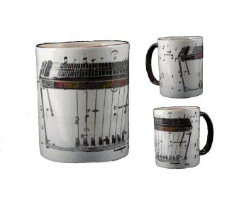 Mug with Pedal Steel Guitar Image: Kitchen & Dining