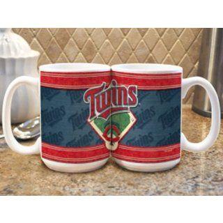 Minnesota Twins Coffee Mug   Felt Style  Sports & Outdoors