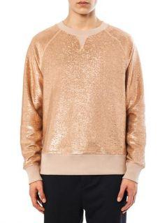 College glitter sweatshirt  Acne Studios