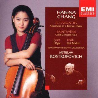 Han Na Chang ~ Debut Recording   Tchaikovsky � Saint Sa�ns � Faur� � Bruch / LSO � Rostropovich: Music