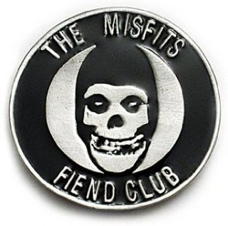 MISFITS FIEND CLUB Belt Buckle Danzig Skate Punk Horror: Clothing