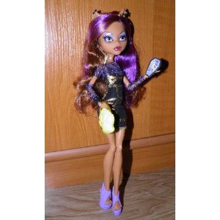 Monster High Ghoul's Night Out 4 Doll Set Rochelle Goyle   Clawdeen Wolf   Ghoulia Yelps & Venus McFlytrap: Toys & Games