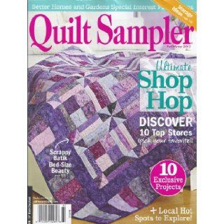 Quilt Sampler Magazine (Better Homes and Gardens, Fall/Winter 2013): Jennifer Keltner: Books