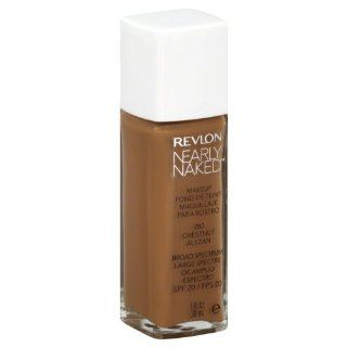 Revlon Nearly Naked Makeup, Chestnut, 1 oz : Foundation Makeup : Beauty