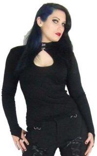 Necessary Evil Venda Key Hole Top at  Women�s Clothing store