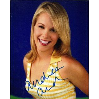 Andrea Anders Signed Joey Mr. Sunshine Necessary Roughness Better Off Ted: Entertainment Collectibles