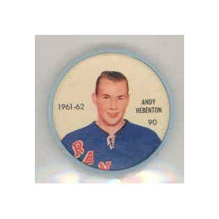 1961 62 Shiriff Coins 90 Andy Hebenton Rangers Near Mint at 's Sports Collectibles Store