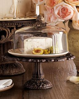 Cheese/Dessert Dome & Pedestal   GG Collection