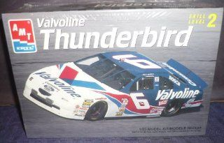 #8088 AMT /Ertl Mark Martin #6 Valvoline Thunderbird 1/25 Scale Plastic Model Kit,Needs Assembly Toys & Games
