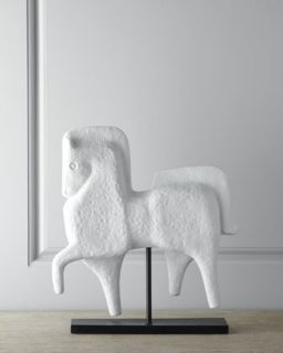 Prancing Horse Sculpture   Jonathan Adler