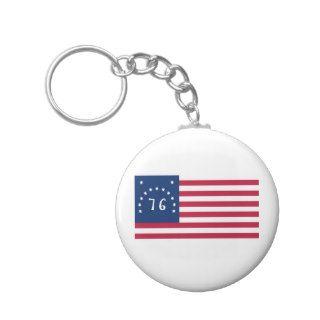 United States Bennington Flag Spirit of 76 Key Chains