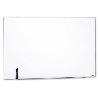Quartet Products   Quartet   Magnetic Dry Erase Board, Painted Steel, 48 x 31, White, Aluminum Frame   Sold As 1 Each   Mixing, match and connect multiple boards to suit your meeting and workspace needs.   Hang vertically or horizontally with included wall