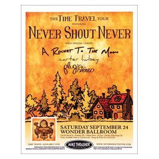Never Shout Never   Posters   Limited Concert Promo   Prints